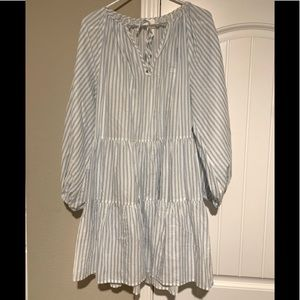 H&M pinstripe dress